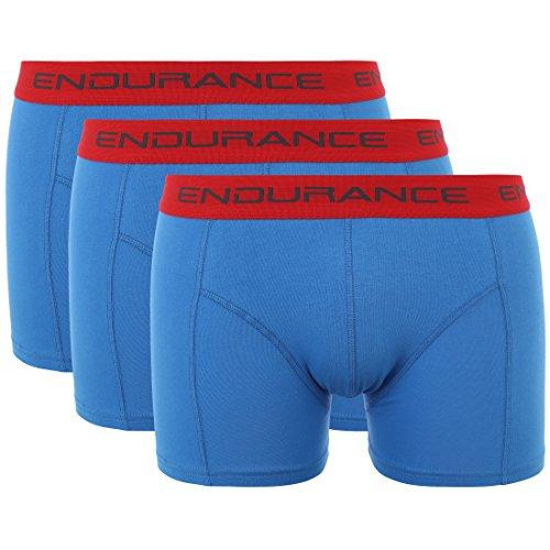 Ultrasport Endurance Herren Boxershorts Burke 3er-Pack, Frenchblue, M