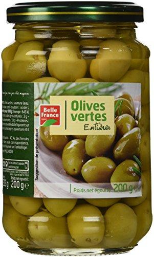 Belle France Olives Vertes Bocal 37 cl - Lot de 12
