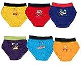 #9: IndiWeavesKids Baby Girls Plain Bright Panty Brief Innerwear