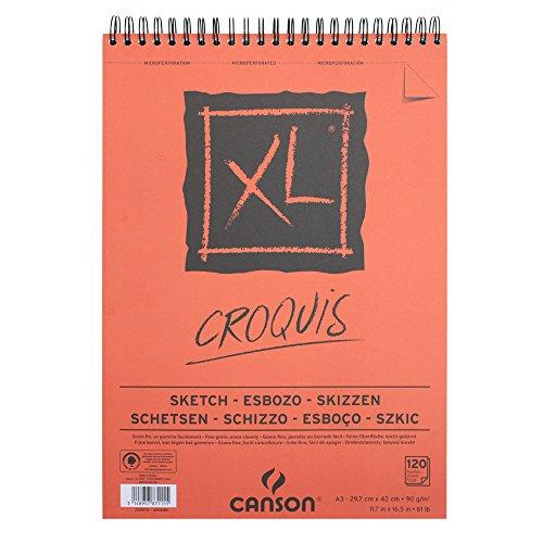 canson-xl-block-skizzen-und-zeichenpapier-787115-a3-naturlich-weiss-90-g-qm-inhalt-120-blatt
