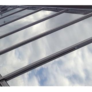 76cm x 3 Metre - Silver Reflective Window Film (Solar Control & Privacy Tint - One Way Mirror / Mirrored Glass)