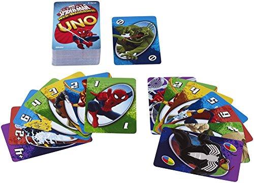 Spiderman UNO Card Game by Mattel