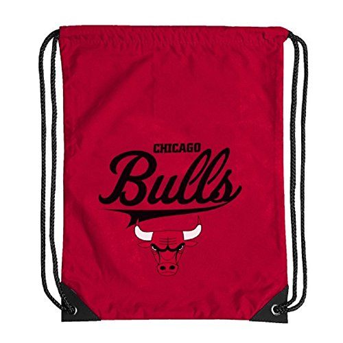 Chicago Bulls Team Spirit Gymsack Gymbag Turnbeutel red