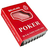 Goods & Gadgets Royal Plastic Poker Cards Plastic Cards 100% Plastic Playing Cards