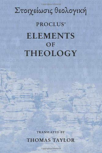 Proclus: The Elements of Theology