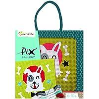 Avenue Mandarine - KC028O - Loisir créatif - Boîte Pix Gallery Comprenant 1 Tableau Point de Croix