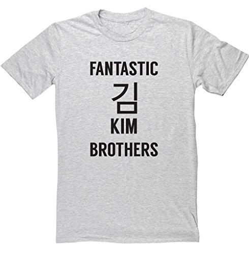 hippowarehouse-fantastic-kim-brothers-unisex-short-sleeve-t-shirt