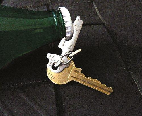 51lc58UtMdL - KeyTool 8-in-1 Keyring Multi-tool, True Utility