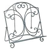 Fashionpillow -1211308000- Mediterrane Kochbuchstütze in grau, 33x29cm   Bücherstütze/ Buchständer, verzier