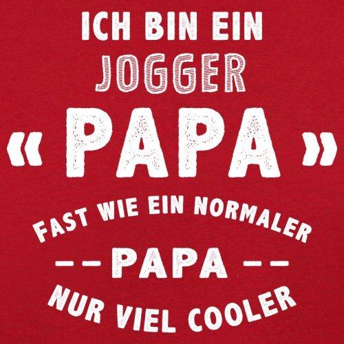 Ich bin ein Jogger Papa - Herren T-Shirt - 13 Farben Rot