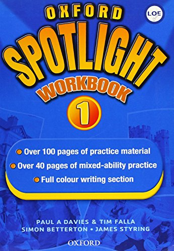 Oxford Spotlight 1: Enhanced: Workbook (Spain)