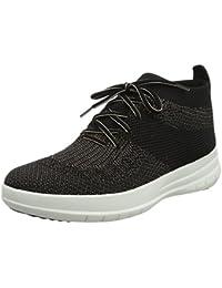 Fitflop Uberknit Slip-on High Top Sneaker, Collo Alto Donna