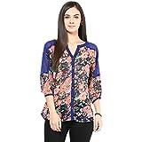 Shwetna Women's Shirt (SW-124_Blue_Large...