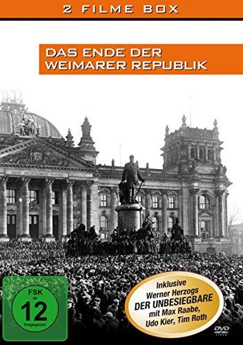Das Ende der Weimarer Republik