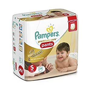 Pampers Premium Care Small Size Diaper Pants (24 Count)