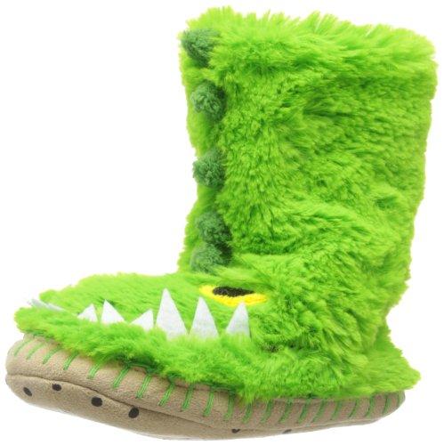 Hatley  Slouch - Gators,  Jungen Hausschuhe, ungefüttert Grün (Alligators)