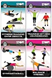 STOP! Trainingskarten - Fitness Bundle - Set mit vier Trainingskartensätzen