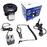 Rechargeable Universal Fast Inflate and Deflate Dual Power Air Pump ~ Charges From