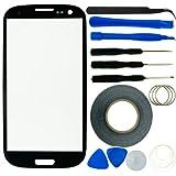 ECO-FUSED FUSED Ersatzdisplay für Samsung Galaxy S39300mit Zange/Klebeband/Reparatur-Set/Mikrofasertuch schwarz
