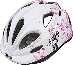 Abus Mädchen Fahrradhelm Super Chilly, Scribble Pink, 46-52 cm, 39565-9