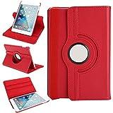 WindTeco iPad 9.7 2018 / iPad Air 2 / iPad Air Hülle, 360 Grad Rotierende Case Schutzhülle Tasche Etui mit Auto Schlaf/Wach Funktion für Apple iPad 9.7
