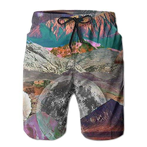 Herren Shorts Swim Beach Trunk Sommer Katze im roten Pullover Casual Fashion Shorts mit Taschen L Gymboree Pullover