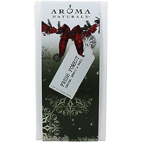 Aroma Naturals - desiderio vacanza naturalmente miscelato Eco-candela votiva Peppermint & vaniglia - 1 Count