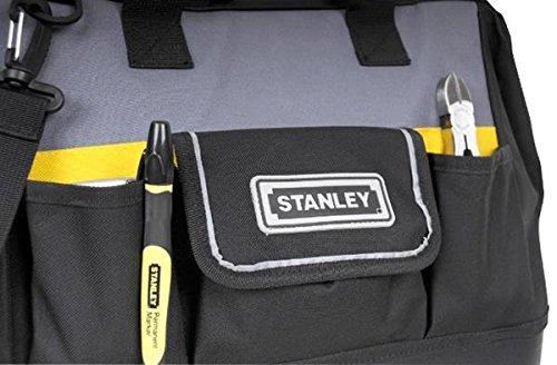 Stanley Werkzeugtasche, 44.7×27.5×23.5 cm, 600 Denier Nylon, verstellbarer Schultergurt, wasserdicht, 1-96-183 - 8