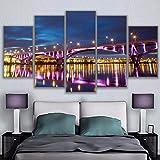 sanzx Leinwand Wandkunst Modulare Bild Wohnzimmer
