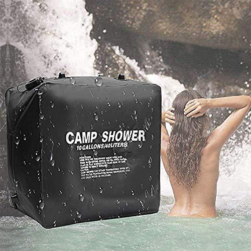 FDSEP Outdoor-Reisen Camping Solarbad Tasche 40L tragbare große Kapazität Wasserbeutel Duschbeutel Badetasche