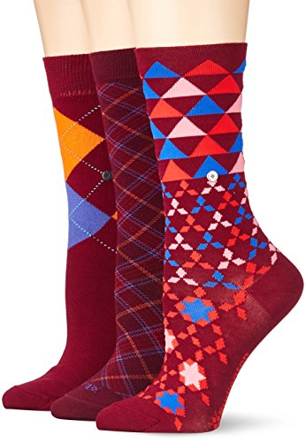 Burlington Damen Socken Ladies Gift Pack, Mehrfarbig (Sortiment 0010), 36/41 (Damen-diamant-muster-socken)