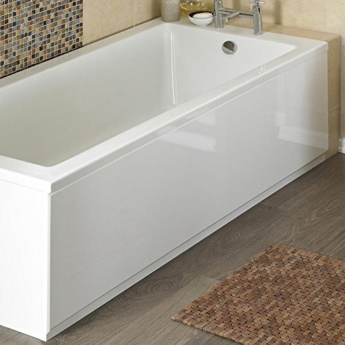 Home Standard� 1700mm Universal 2 Piece Front Bath Panel | White Gloss Coated MDF | Includes Main Panel & Bottom Plinth