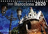Barcelona (Tischkalender 2020 DIN A5 quer): Künstlerisch verfremdete Ansichten der Stadt Barcelona (Monatskalender, 14 Seiten )