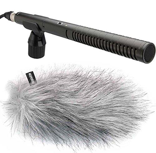 Rode NTG-2 Richtmikrofon NTG2 + KEEPDRUM WS-WH Fell-Windschutz
