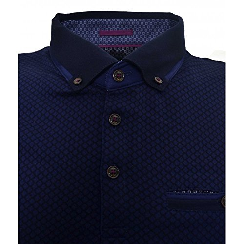 Ted Baker Men's Blue Disjak Polo Shirt Blue