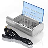 Best C Battery Chargers - PALO 821 LED Display Universal Battery Charger Review
