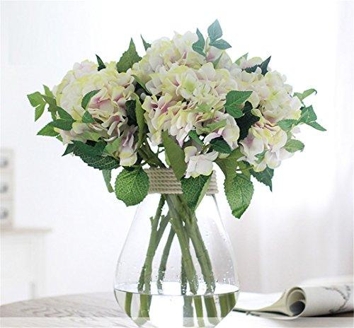 NOHOPE Vaso di vetro fiore di emulazione Suit Home interni ornati di fiori - Vetro Abbellimenti
