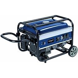 Einhell BT-PG 2800/1 - Generador eléctrico de gasolina (Sistema AVR (Regulación Automática Voltaje), depósito de 15 l) color azul