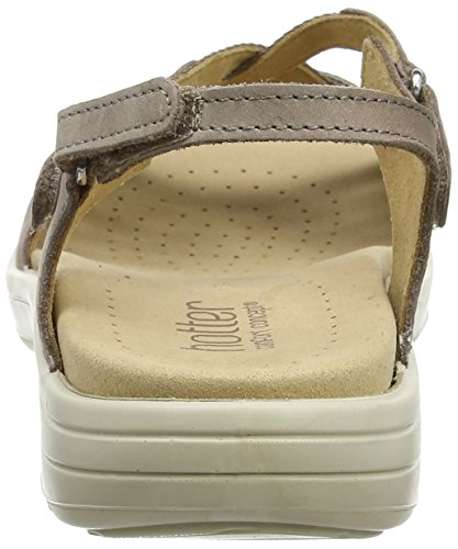 Hotter Maisie, Sandales  Bout ouvert femme Brown (Truffle Multi)
