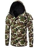 Herren Männer Koreanischen Männer Jacke Blazer Herren Sakko Jacket Blazer Freizeit Buisiness Jacke Slimfit Herren Casual Cotton Zipper Jacke M