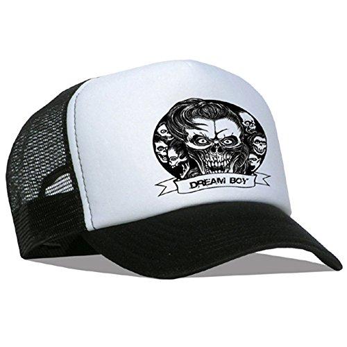 Tedd Haze - Casquette en maille Skull Dream Boy