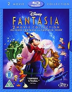 Fantasia / Fantasia 2000 [Blu-ray] [1941] [Region Free]