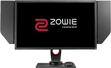 BenQ ZOWIE XL2735 68,58 cm (27 Zoll) e-Sports Gaming Monitor (Höhenverstellung, S Switch, Black eQualizer, Shield, 1ms Reaktionszeit, 144Hz) grau