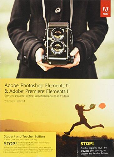 Adobe Photoshop & Premiere Elements 11 Student and Teacher* englisch WIN & MAC (Adobe Premiere 11)