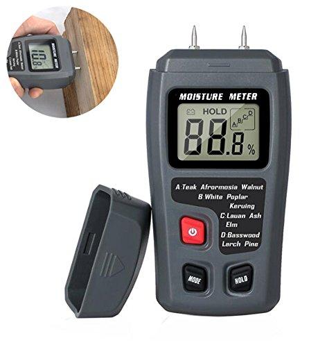 0-99.9% Digital Holz Feuchtigkeit Meter Holz Feuchtigkeit Tester Baum Damp Detector Feuchtigkeit Tester Werkzeuge