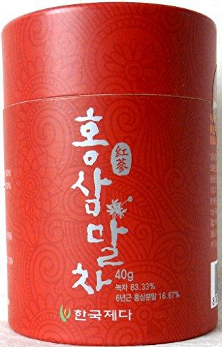 hongsam-garucha-40g-koreanischer-roter-ginseng-koreanischer-gruner-tee-pulver-40g-