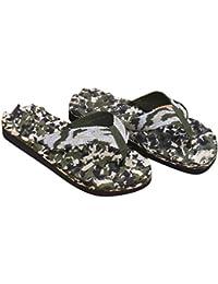 Goodsatar Hombres Verano Camuflaje Flip Flops Zapatos Sandalias Zapatilla Interior o exterior