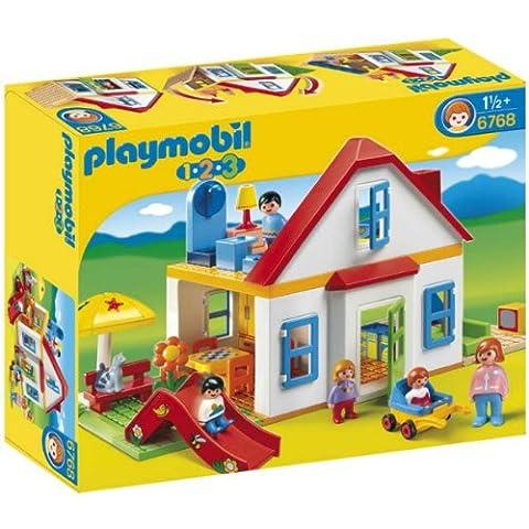 Grande Maison Playmobil - Playmobil 123 - 6768 - Figurine -