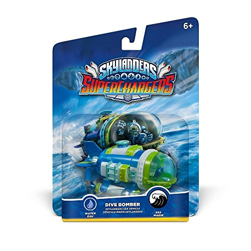 Skylanders Super Chargers Vehicle Dive Bomber Figurina