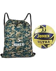 Jonex Ultra Volleyball and Reversible String Bag Combo @Hipkoo